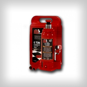 Домкрат бутылочный в кейсе, 6т Big Red T90603S