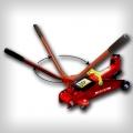 Домкрат подкатной с поворотной ручкой 2,5-3т Big Red T83003С