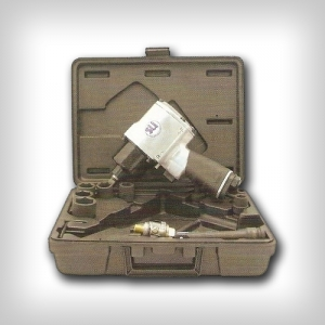 Пневмогайковерт в кейсе 17 предметов Sumake ST-55444K