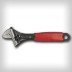 Ключ разводной с обрез.ручкой 210мм CrV Yato YT-2171