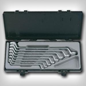Набор 8 накидных 75-градусных ключа Force 5081
