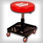 Регулируемый табурет с полкой для инструм. BIG RED TR6201
